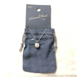Universal Thread Semi Precious Druzzy Necklace